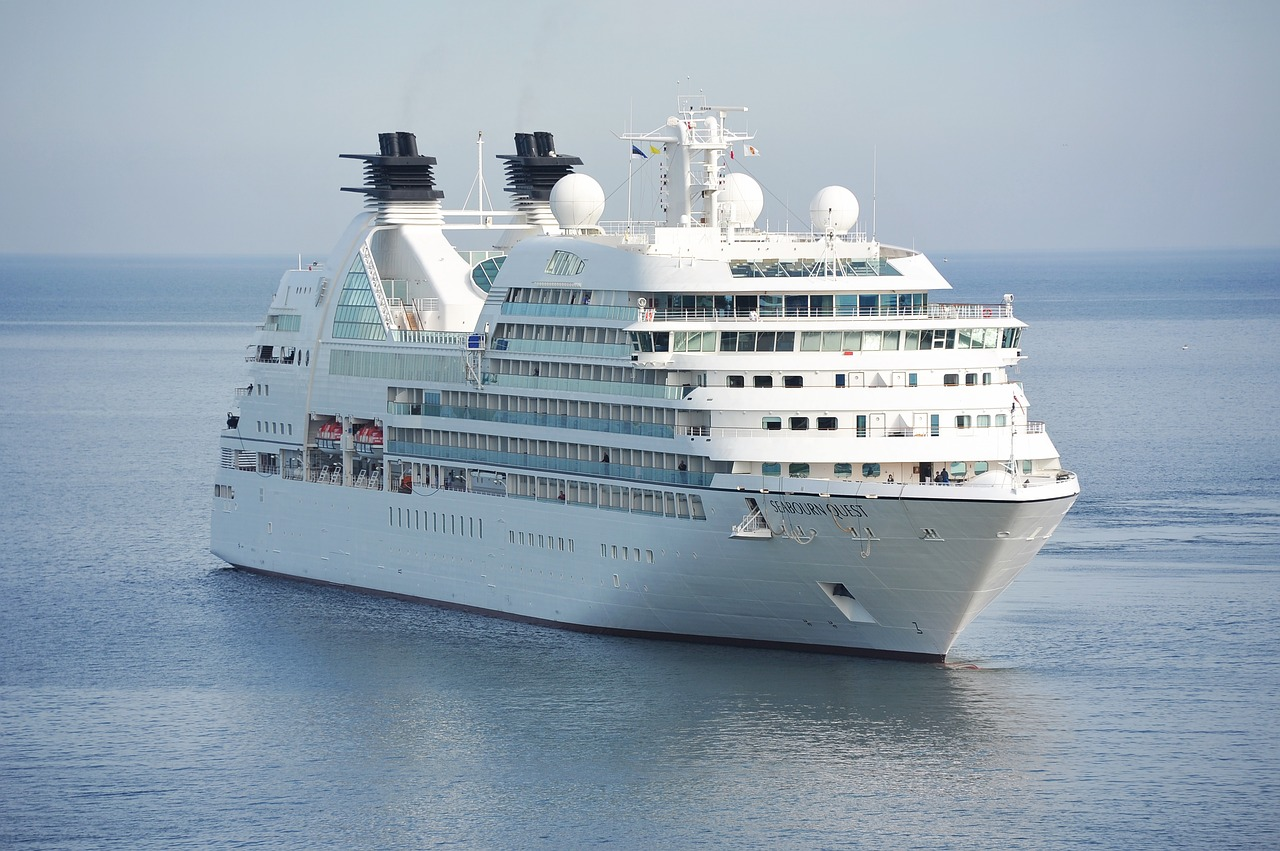 Luxury Cruise Ships Are Now as Good as Scrap