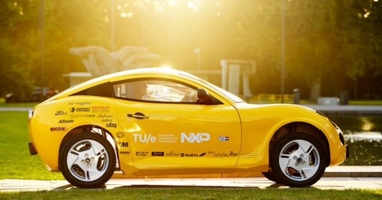 A Small Electric Car Made Largely From Recycled Waste