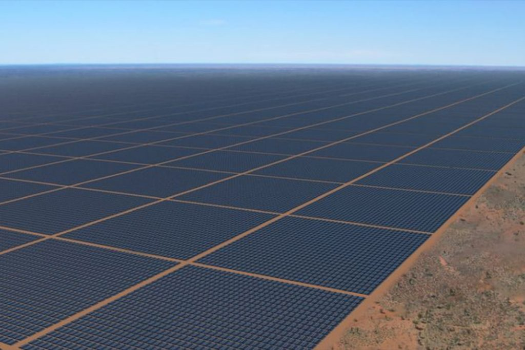 World's Largest Solar Farm to Be Built In Australia but Most of the Power Generated Will End Up In Singapore