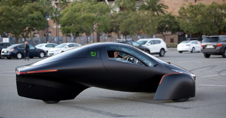 Aptera Unveils Super-Efficient Electric Car That Never Needs Charging