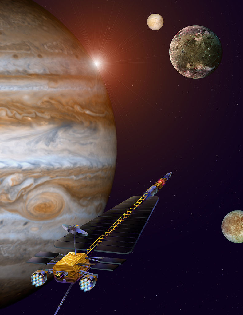 The Nuclear-Powered Aircraft to Explore Planet Jupiter