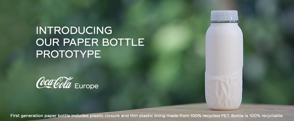 Coca-Cola Is Going To Launch Paper Bottles To Prevent Plastic Pollution