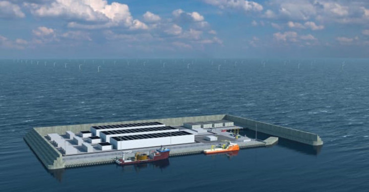 Denmark To Build A World's First Energy Island In The North Sea