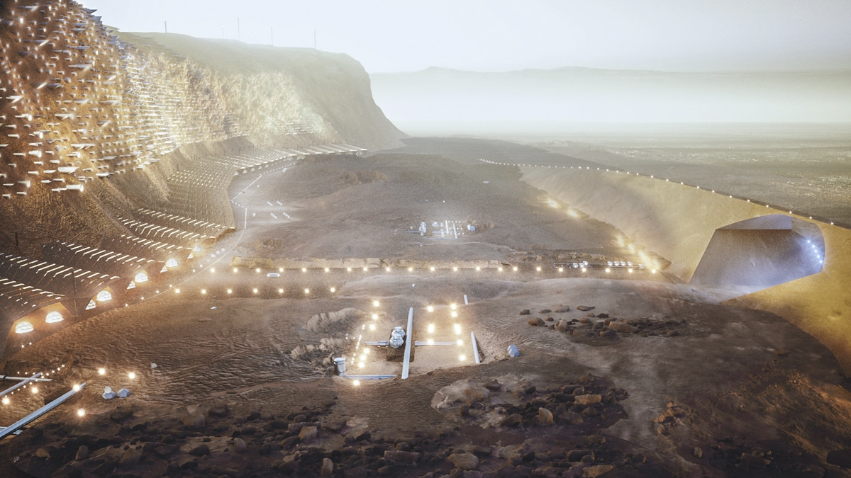 ABIBOO Unveiled the Plans for The First Sustainable City on Mars