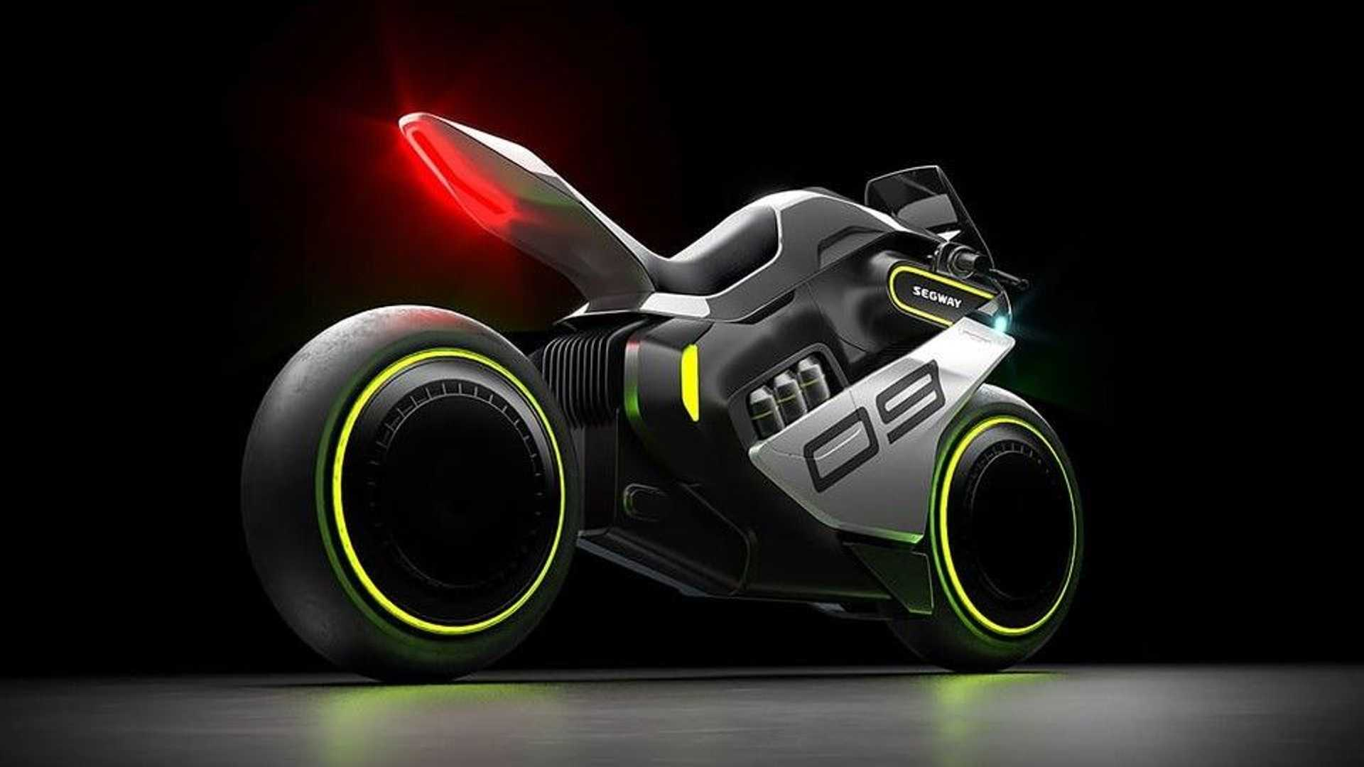 Segway's ultra-futuristic Apex H2 is a Hydrogen Powered Motorcycle