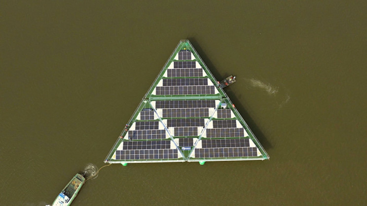 Floating Solar Platform Can Withstand Hurricanes
