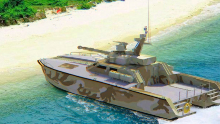 Tank Boat: Indonesia Builds A Tank That's Also A Boat