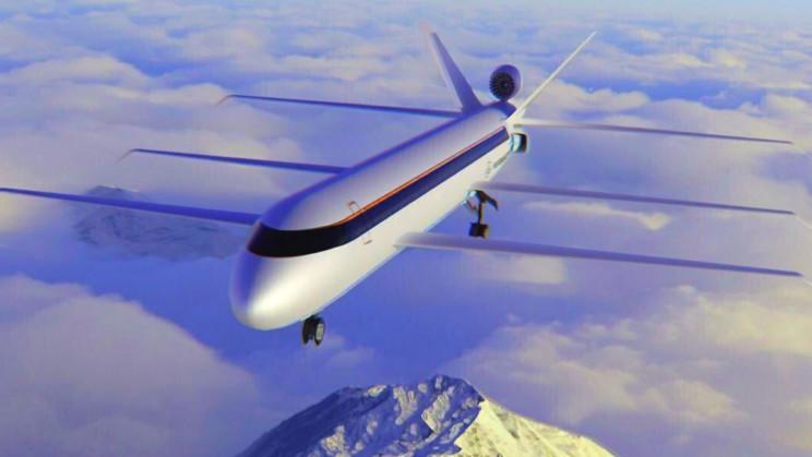 Futuristic Tri-Wing Jumbo Jet will Save 70% fuel