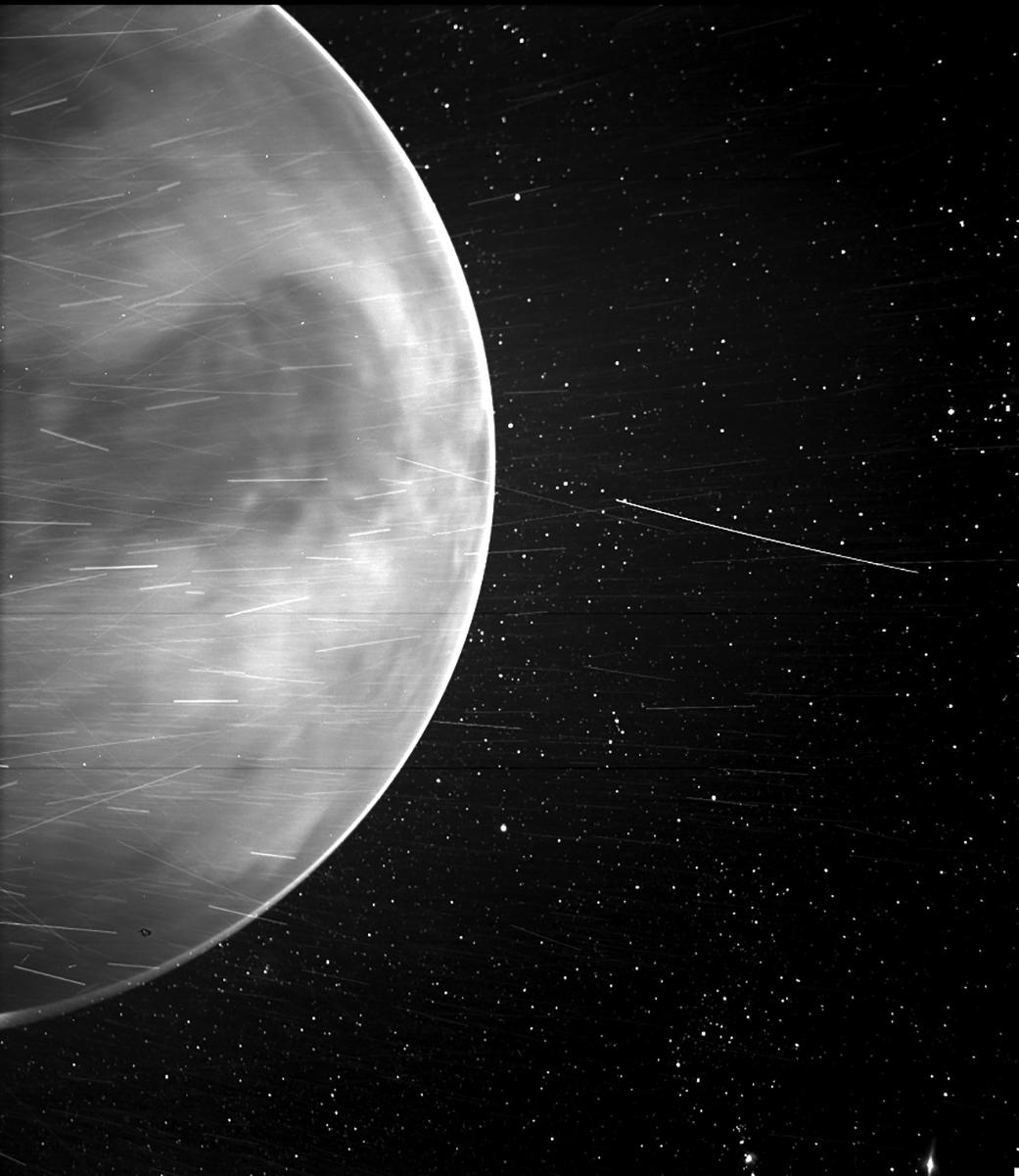 A NASA Probe Detected Natural Radio Emissions from Venus