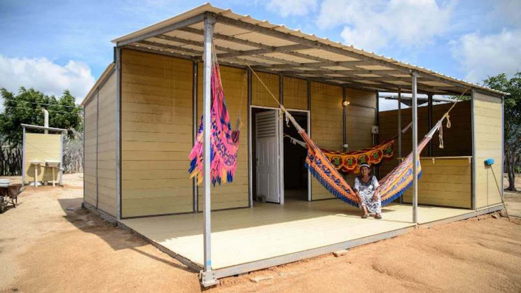 Love Columbian Coffee! Now you can live in a home built from your favorite coffee