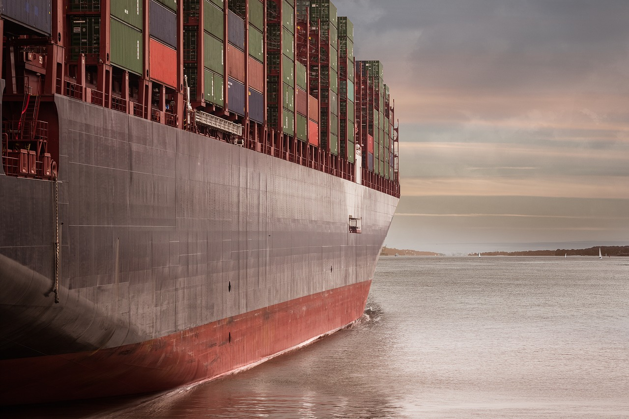 Another Container Ship Remains Stationary in the Suez Canal