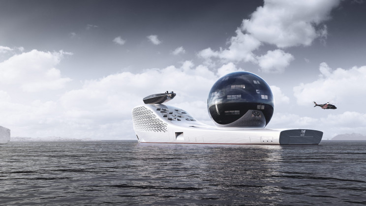 World's First Nuclear-Powered Atomic Super-yacht Project Aims to Save the Earth