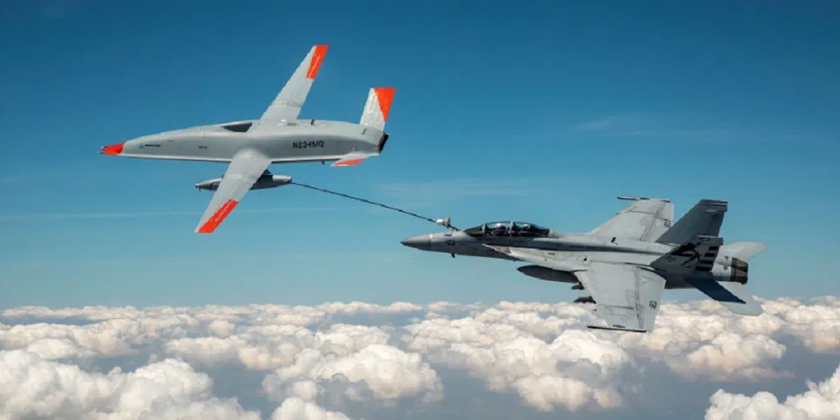 Drone Made Aviation History by Successfully Refueling a U.S. Fighter Jet Mid-Air