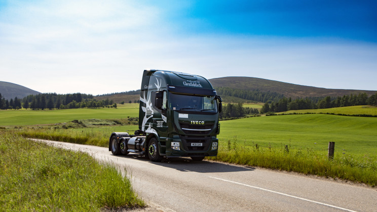 Glenfiddich Uses Its Whisky to Power Its Fleet of Trucks