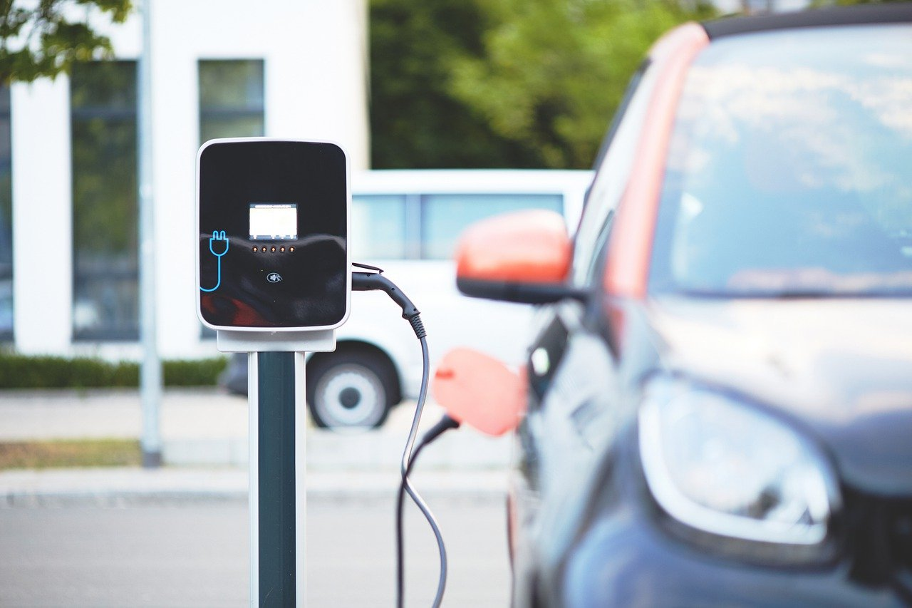 Electric Vehicle on Charge