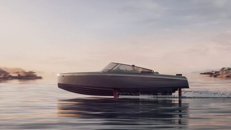 Candela's New Electric Hydrofoil Speedboat Is Lightning Fast and Emissions-Free