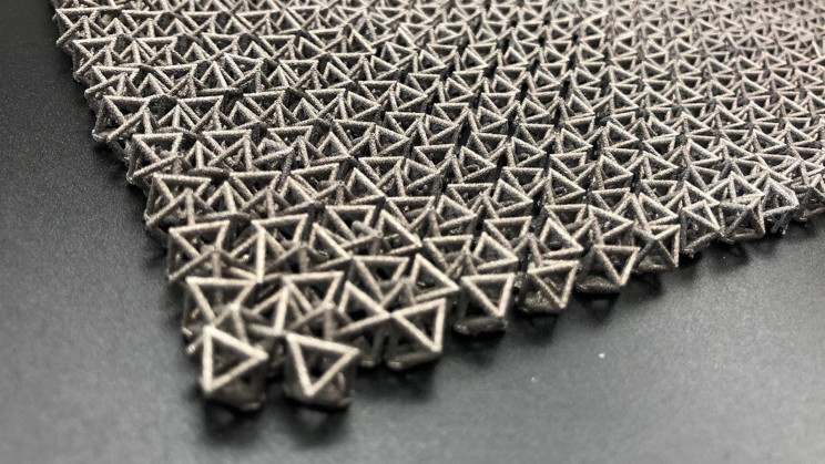 Ancient Chain Mail Armor Inspired Material Can Change Stiffness on Command