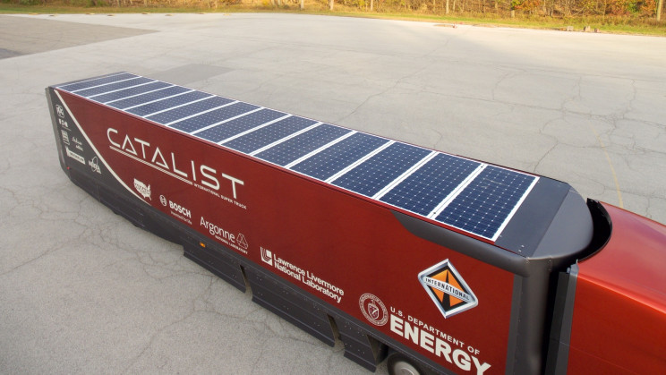 Solar-Powered Refrigerated Trailers Could Greatly Reduce CO2 Emissions