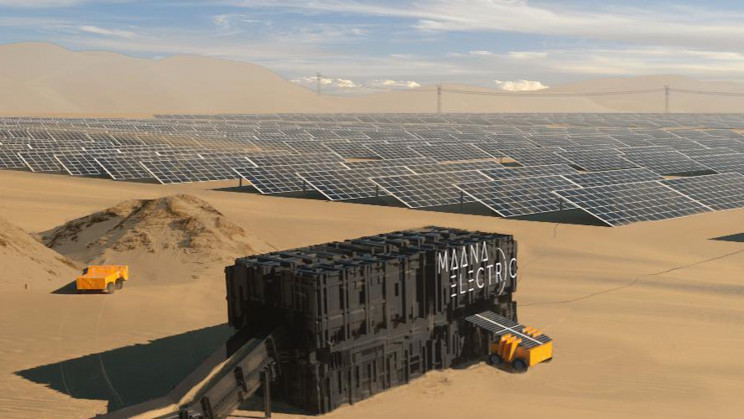 These Containers Are Turning Sand into Solar Panels