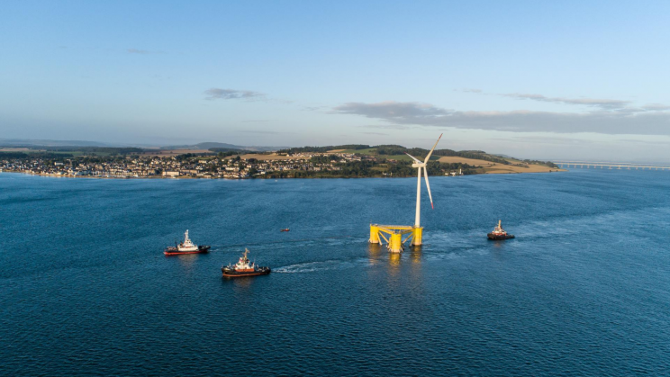 World's Largest Floating Offshore Wind Farm Completed