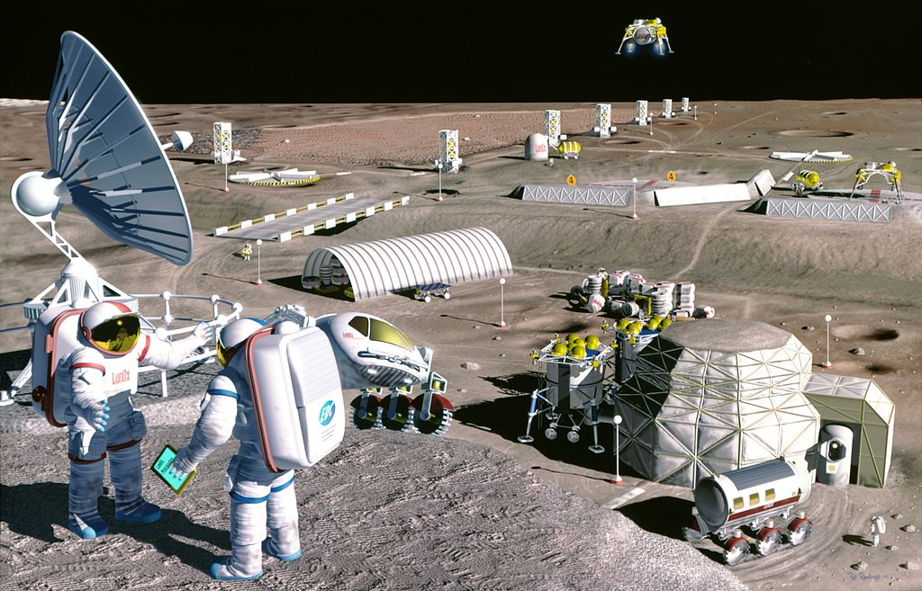 Scientists Are Planning To Send Autonomous 'Robot Swarms' To Mine the Lunar Resources