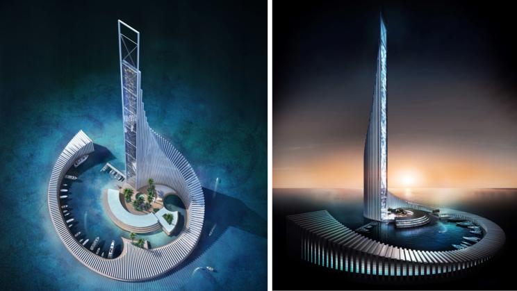 Zanzibar Receives Green Light to Build Africa's Second Tallest Skyscraper on A Human-Made Island