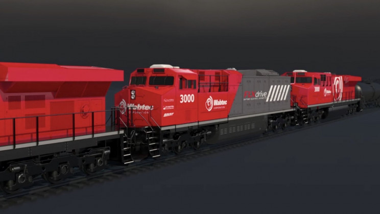 The World's First Battery-Electric Freight Train Cuts Fuel Consumption by 11%