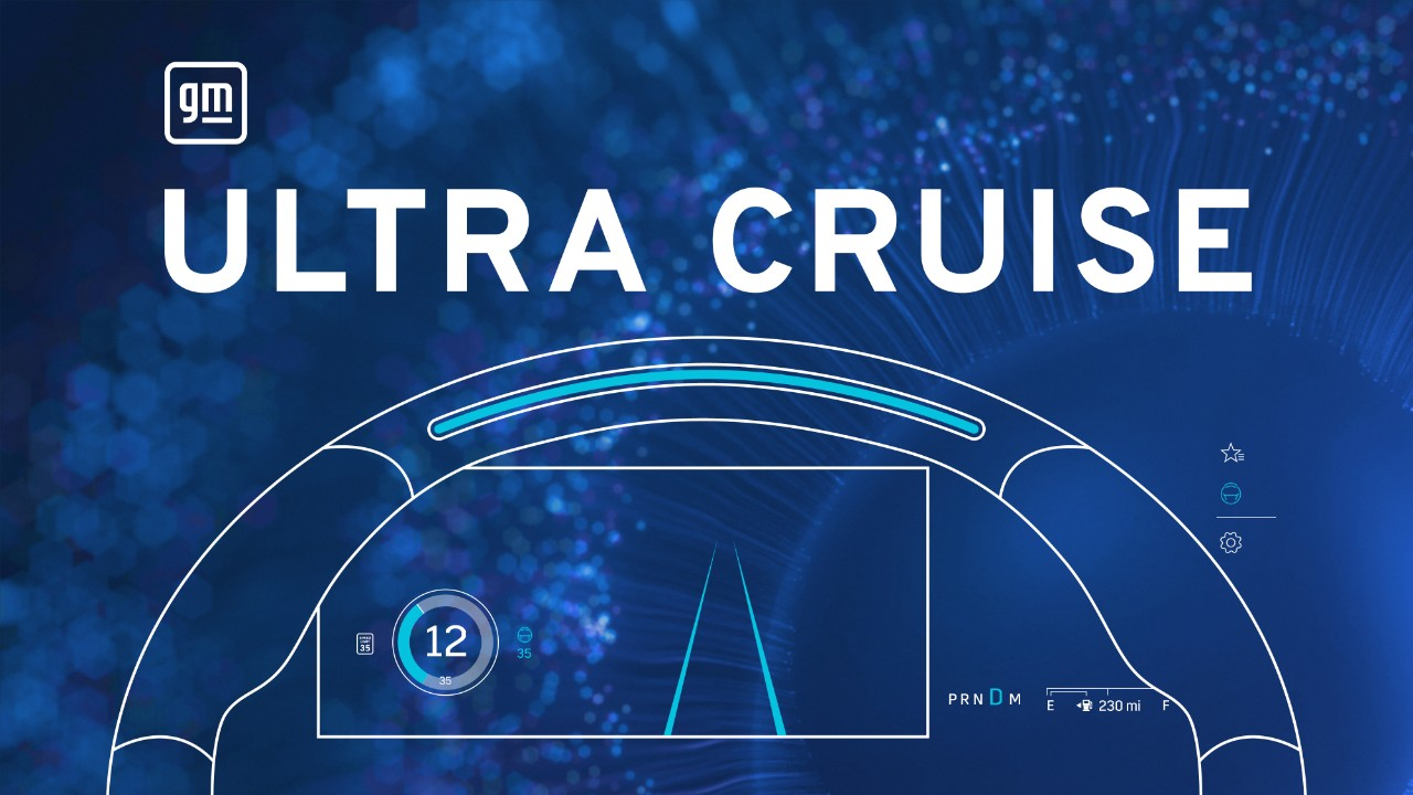 GM's 'Ultra Cruise' Assist System Will Allow 95% Hands-Free Driving