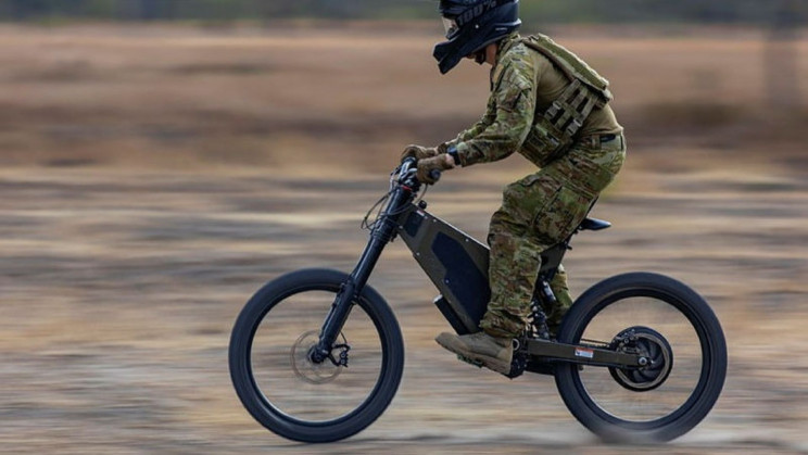Australian Soldiers are Testing These 50MPH E-bikes for Stealthy Reconnaissance