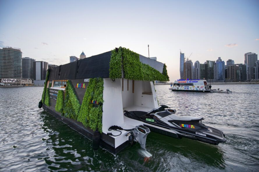 The World's First Self-Sustained Expandable Solar Floating Aquapod Launches in Dubai