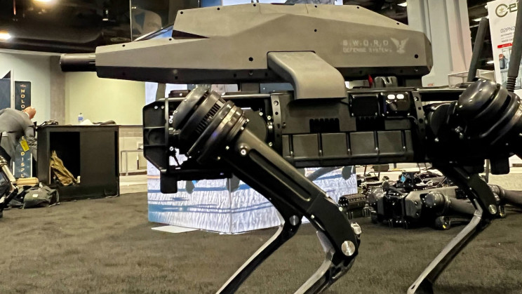 This Sniper Robot Dog Is a High Precision Killing Machine